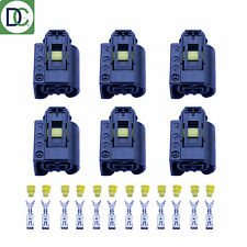 6 x Mercedes Sprinter Genuine Diesel Injector Connector Plug Bosch Common Rail