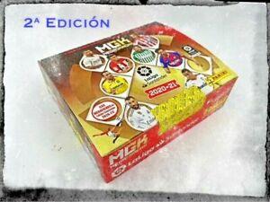 1 CAJA BOX 2ª EDICIÓN 2nd EDITION MEGACRACKS 2020 2021 - 24 PACKETS PANINI CARDS