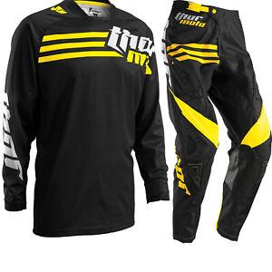 Thor Motocross MX Kit Phase Strands Black/Yellow Dirt Bike Off Road Enduro Kit
