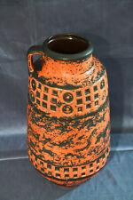 Keramik Mid Century Bodenvase  Vintage W.Germany  Industriedesign 50er