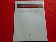 Mercedes s210 clase e t-modelos folleto de 1996