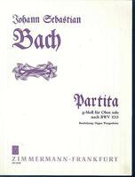 J. S.Bach ~ Partita in g-moll für Oboe solo nach BWV 1013