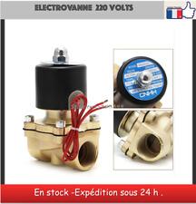 electrovanne 220 volts solénoïde eau air huile vanne