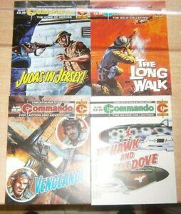 Commando comic #5479 #5480 #5481 #5482 - 16th October 2021
