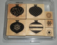 :: Stampin' Up! Set - DELIGHTFUL DECORATIONS - ornaments holiday tags Christmas