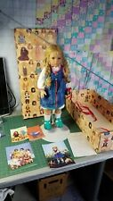 Ullwa Doll By Annette Himstedt w/Both Box Coa Certificate Vintage 1999 Beautiful