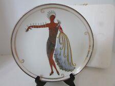 House Of Erte Plate Diva Ii Ltd Ed Franklin Mint Collector Plate