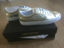 Converse women Breakpoint sneakers shoes size -6 color- light gold and white