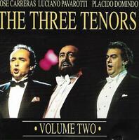 The Three Tenors Vol.2 - Carreras Pavarotti Domingo (No Date CD Album)