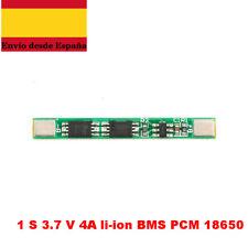 1 S 3.7 V 4A Batterry Litio Bordo de Protección BMS PCM PCB Li-ion 18650 liti