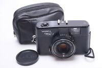 ✅ YASHICA ME 1 35MM FRAME SIZE COMPACT CAMERA *READ 38MM 2.8 LENS, CASE & STRAP
