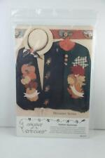 NEW Indian Summer Sweatshirt Applique Fall Pattern 2000 Donna Kozera