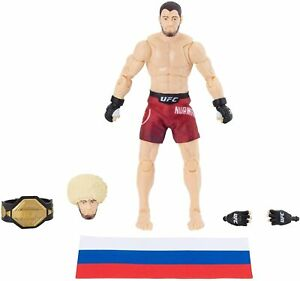 "UFC Collectible Action Figure 6"" Khabib Nurmagomedov Wrestling Action Toy"