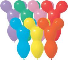 "Betallatex 18"" Fashion Assortment Big Bear Shaped Latex Balloons (50 ct)"