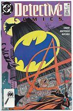 DETECTIVE COMICS #608 Nov 1989 NM+ 9.6 W 1st App ANARKY BATMAN GRANT BREYFOGLE
