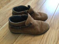 Primigi Girls Brown Short Ankle Boots. Sz 35. GUC