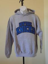 New - NBA New York Knicks  Mens Large (L) Grey Hoodie Sweatshirt
