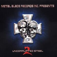 UNCORRUPTED STEEL 2 (Metal Blade CD) *NEW* Vader*Amon Amarth*Cannibal Corpse