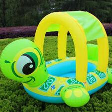 Kids Baby Toddler Swimming Pool Swim Seat Float Boat Adjustable Ring Turtle