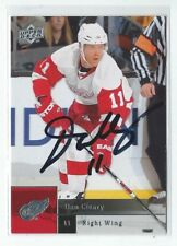 Dan Cleary Signed 2009/10 Upper Deck Card #376