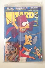 Wizard The Comics Magazine #28 December 1993 Sealed Promo Cards Matt Groening