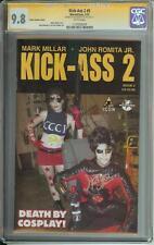 KICK-ASS 2 #5 SS CGC 9.8  PHOTO VARIANT COVER  AUTO JOHN ROMITA JR