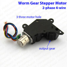 Mini Gearbox Reducer Motor Dc 3v5v 2 Phase 4 Wire Micro Worm Gear Stepper Motor