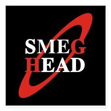 Red Dwarf TV Series Show Return 2016 Square Sticker Decal, SMEG HEAD