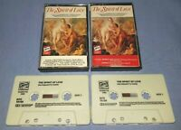 THE SPIRIT OF LOVE Double classical music cassette T9094
