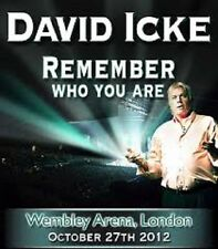 David Icke, Remember Who You Are?, Live At Wembley Arena 2012, Conspiracy DVD-R