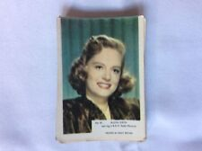 m17d1 trade card kane film stars 1958 no 61 alexis smith
