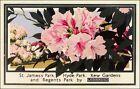 St James Hyde Park Kew Gardens 1929 London Underground Vintage Poster Print