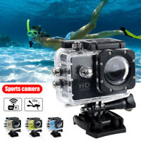 HD 1080P 4K WiFi Sports Action Camera DV Camcorder Video Recorder Waterproof 30M
