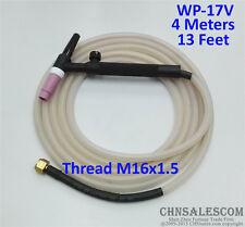 WP-17V Tig Welding Torch Silica Gel Hose 4 Metre Super Soft and Flexible M16x1.5