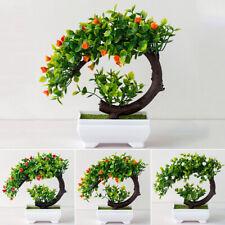 Exterior Flor Falso Plantas Flores Artificial Jardín Decoración Con en Maceta