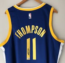 Klay Thompson Signed Warriors Autographed Nike NBA Swingman Jersey FANATICS COA