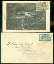 CONGO : 1 cover & 1 Picture Post card.