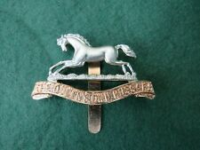 BRITISH ARMY THE QUEENS OWN HUSSARS CAP BADGE