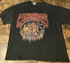 Guns N Roses Vintage Use Your Illusion Tour Shirt 1991-1992 Xl Brockum