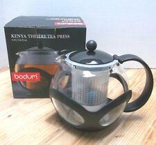 Bodum Kenya Tea Press NIB Make an EXCELLENT cup of tea Larger than the Assam