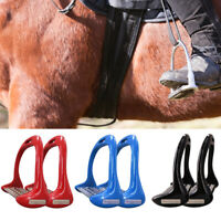 NEW Shires Stirrup Irons - Metal / Cheese Grater Tread - Lightweight & Gripped