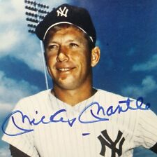Mickey Mantle signed 8x10 print PSA authenticated