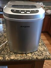 Igloo Ice102C-Portable Compact Electronic Countertop Ice Maker Stainless Steel