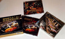 DINING AROUND THE WORLD: MUSIC FROM ITALY, MEXICO AND JAPAN. 3CD BOX SET !!!!!