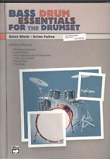Alfred Bass Drum Essentials For Drumset 2001 Black & Pullen Exercises Patterns