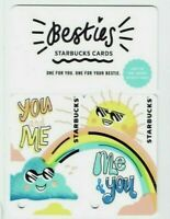 STARBUCKS Gift Card - BESTIES - one for you & one for your bestie - No Value