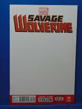 Savage Wolverine #6 Blank  Variant Edition  Marvel Comics CB9935