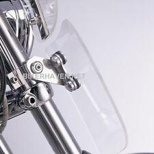 Memphis Shades Clear Windshield Lowers KIT Harley FLSTN Softail Deluxe 2005-2015