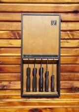 Vintage Ekco Arrowhead Cutlery Knife Kitchen EHP Set USA - Excellent Condition!
