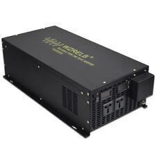 10000W Pure Sine Wave Inverter 60V DC to 230V DC Converter Off Grid Solar Wind
